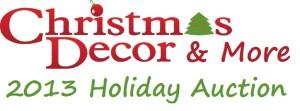 13 Holiday Auction Logo